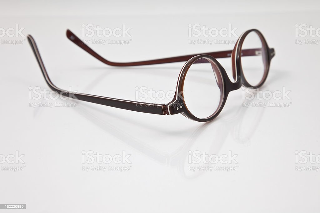 Pair of  retro glasses stock photo