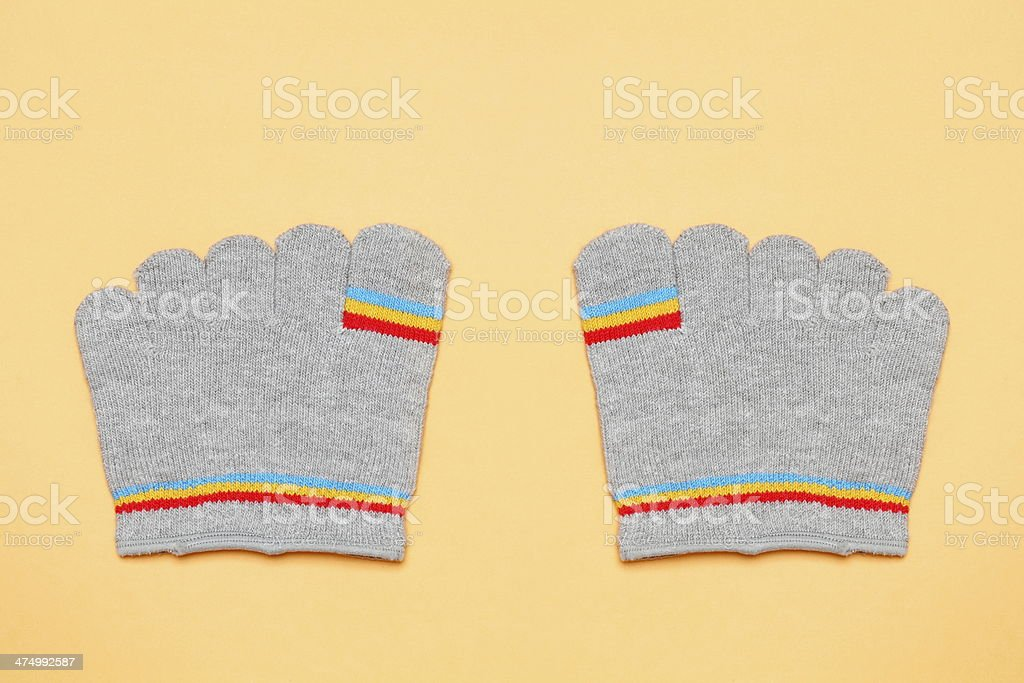 pair of socks stock photo