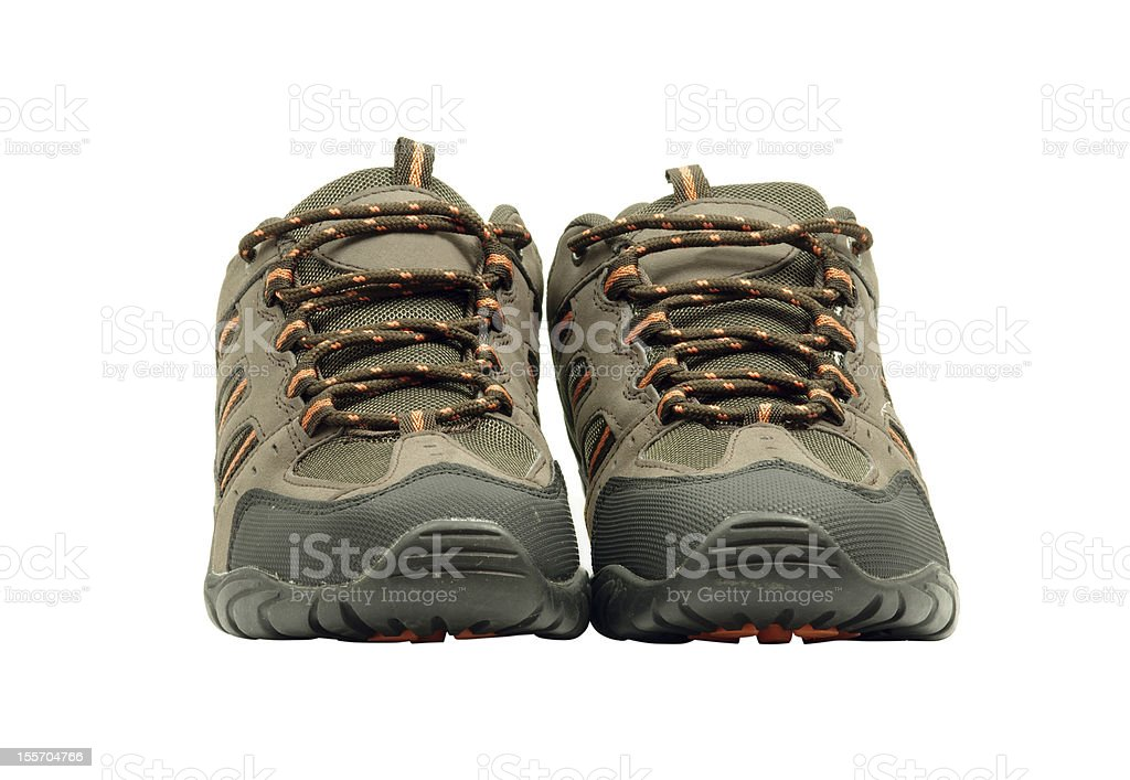 Pair of sport shoes stock photo