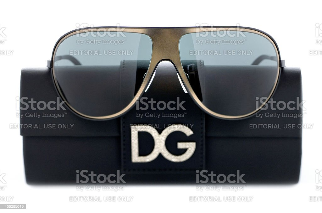 pair of sunglasses by Dolce & Gabbana royalty-free stock photo