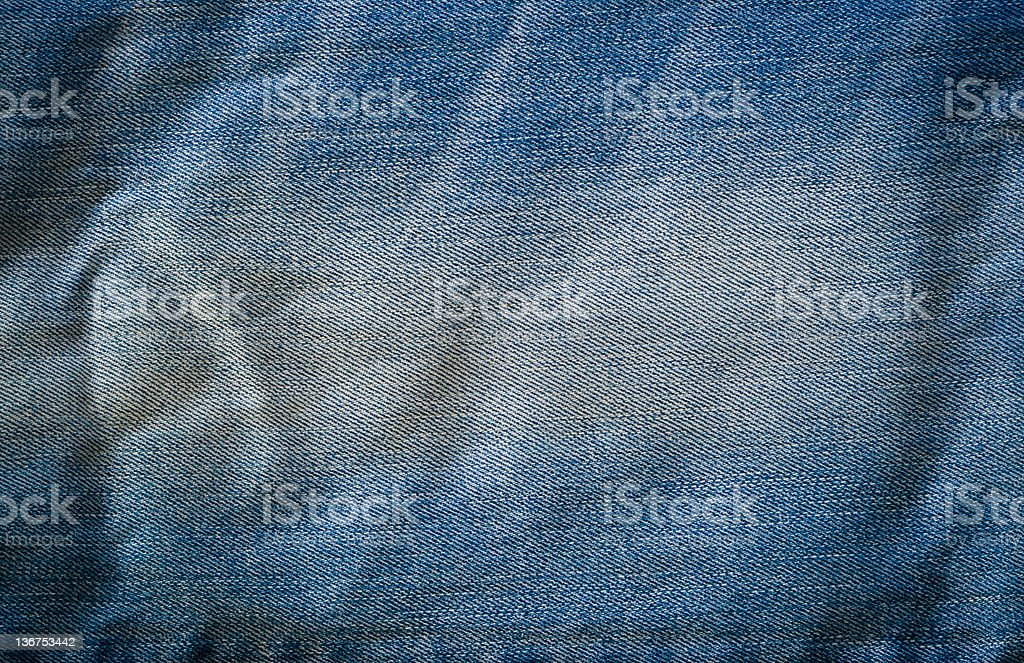 Pairs of  blue jeans royalty-free stock photo