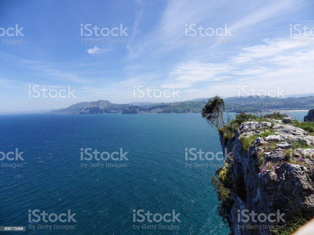 paisaje maritimo stock photo