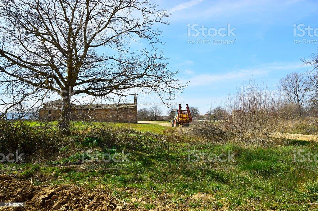 Paisaje Rural stock photo