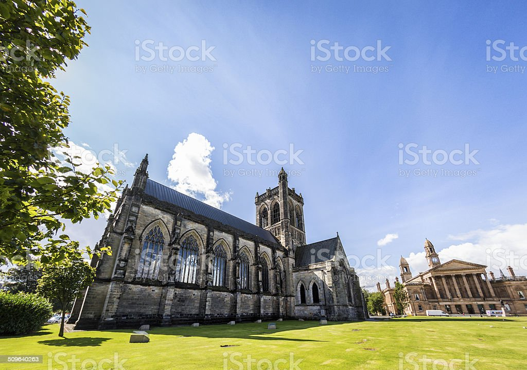 Paisley Abbey stock photo