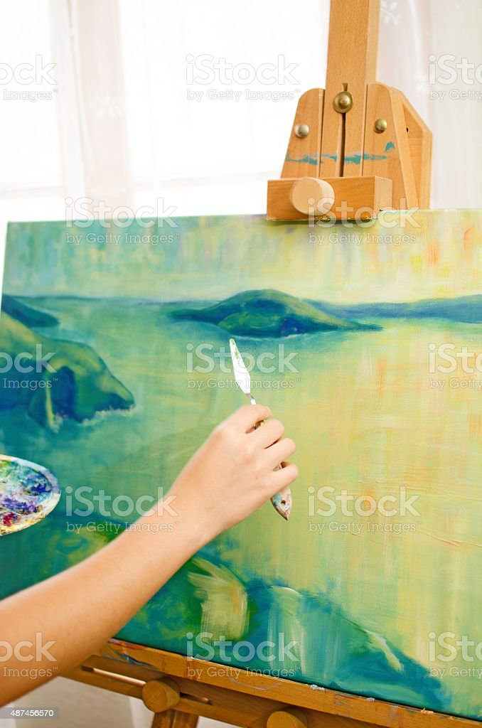 Paiting stock photo