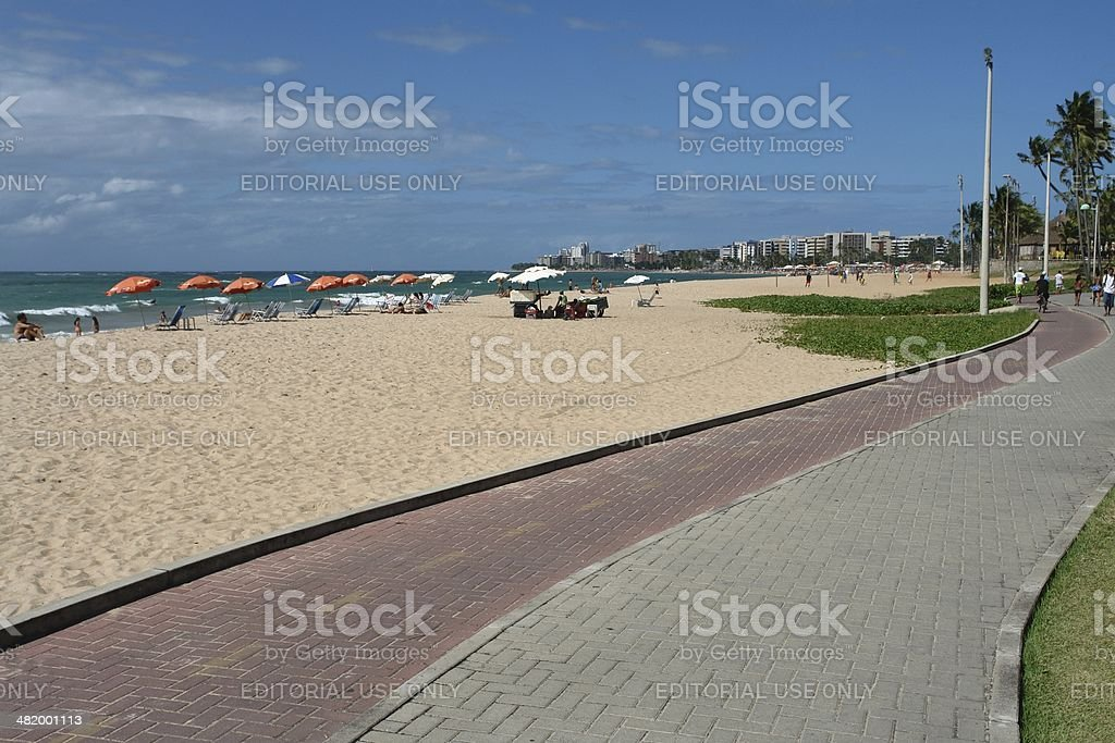 Paju?ara Beach, Macei?, Alagoas state, Brazil stock photo