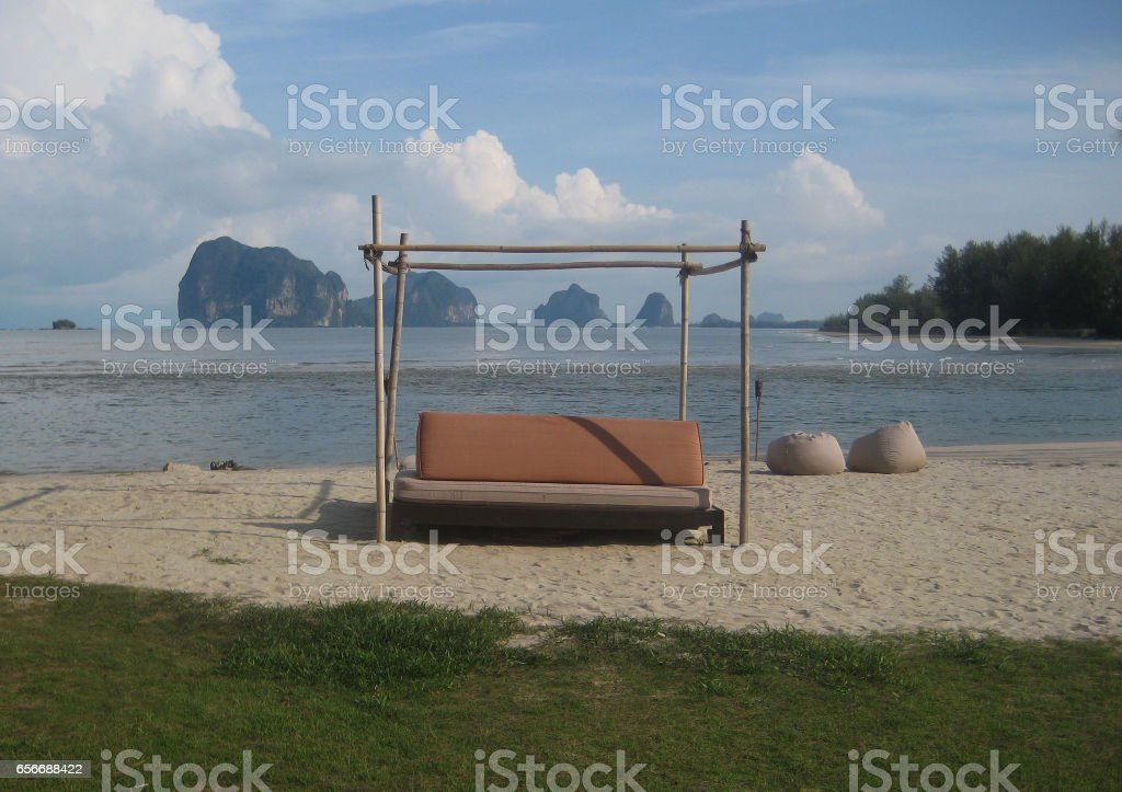 Pak Meng Beach stock photo