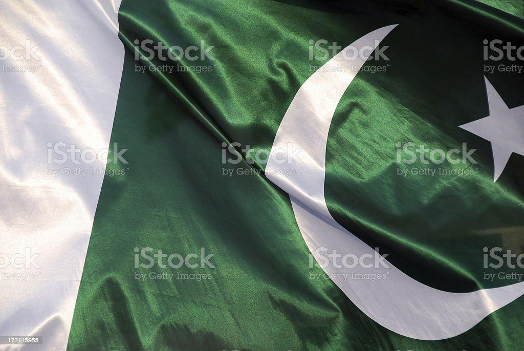 Pakistan Flag royalty-free stock photo