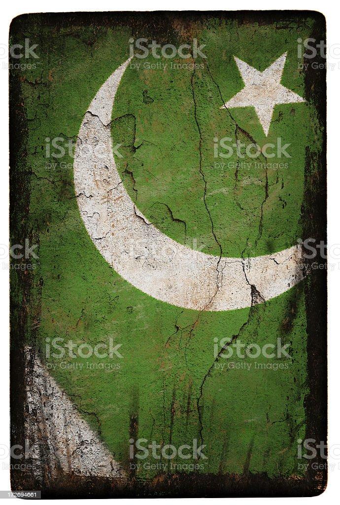 Pakistan Flag XXL stock photo