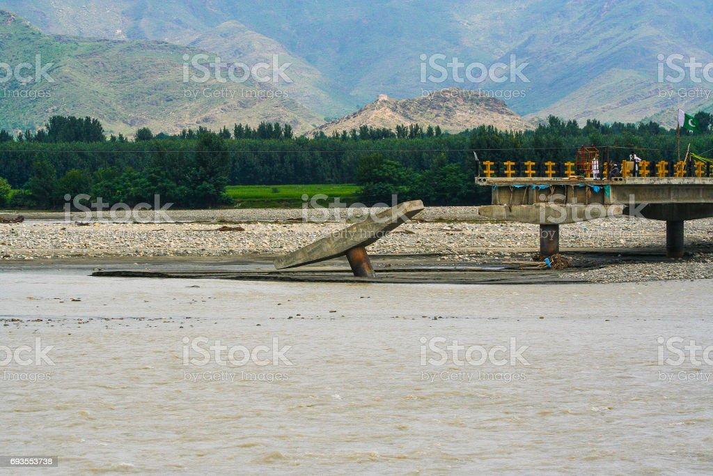 Pakistan tribal area stock photo
