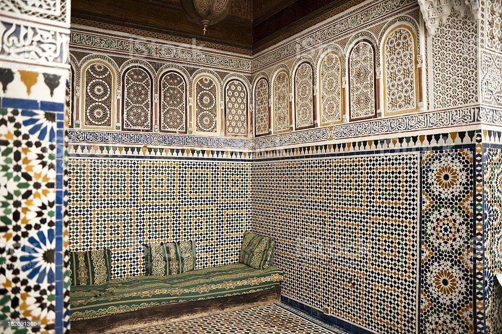 Palace Alcove stock photo