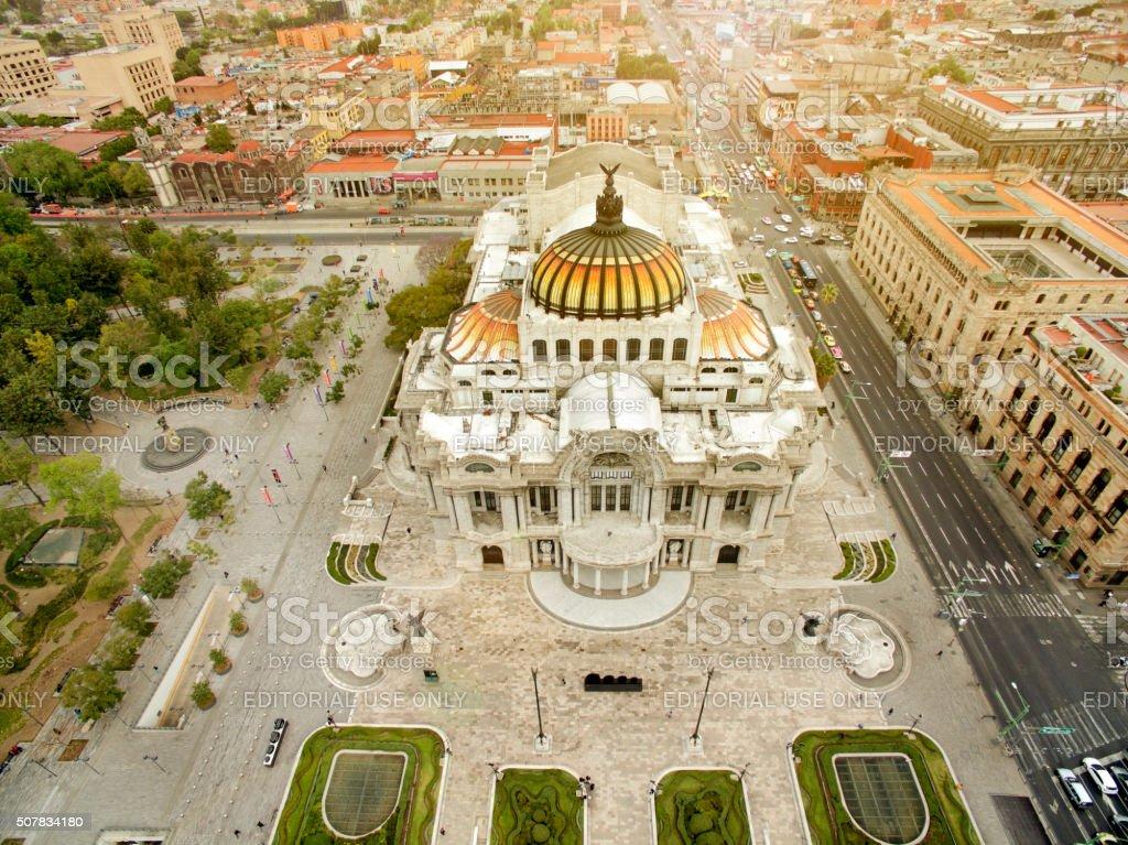 Palace Bellas Artes stock photo
