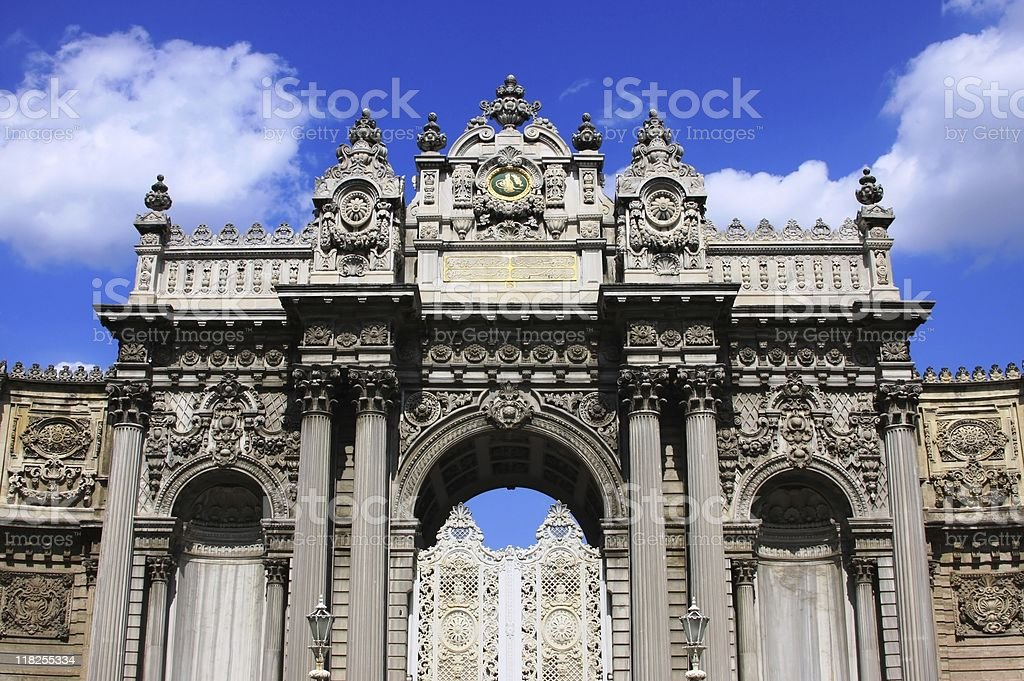 Palace Gate stock photo