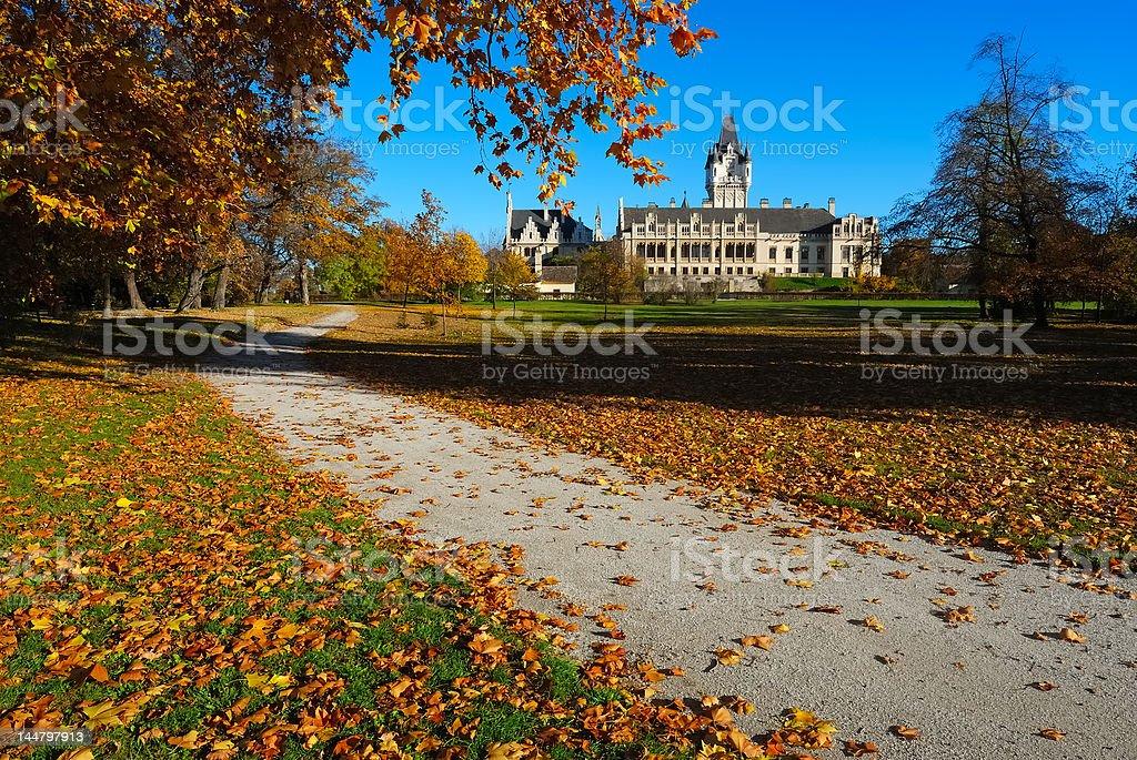 Palace  Grafenegg no.3 royalty-free stock photo