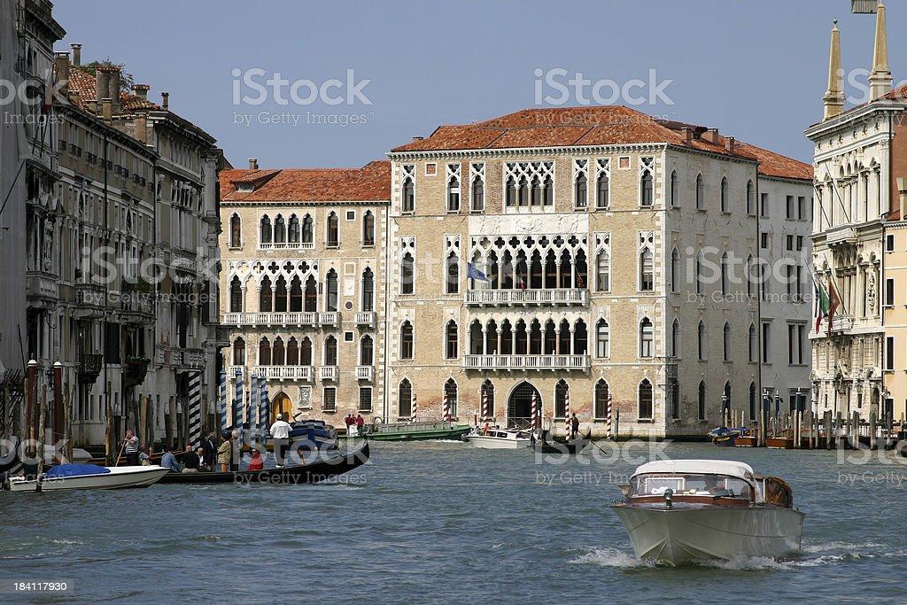 Palace in Venice, Italy royalty-free stock photo