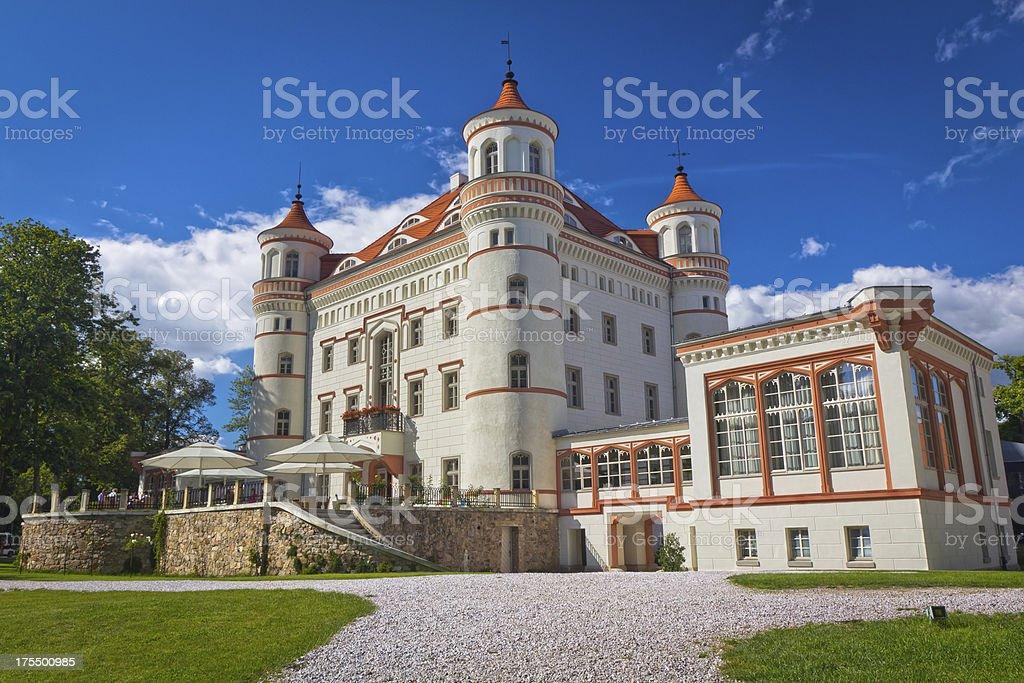 Palace in Wojanów, Poland royalty-free stock photo