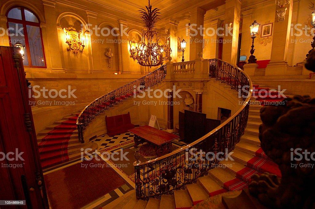 palace interior royalty-free stock photo