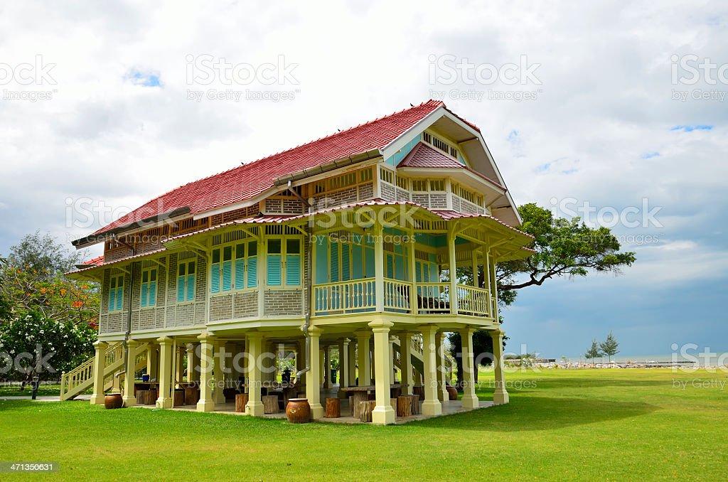 Palace Marukhathaiyawan royalty-free stock photo