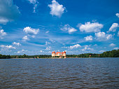 Palace Moritzburg in Saxony, Germany