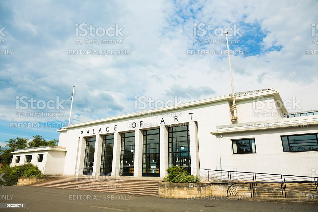 Palace of Art, Glasgow royalty-free stock photo