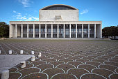 Palace of Congresses (Palazzo dei Congressi), EUR, Rome Italy