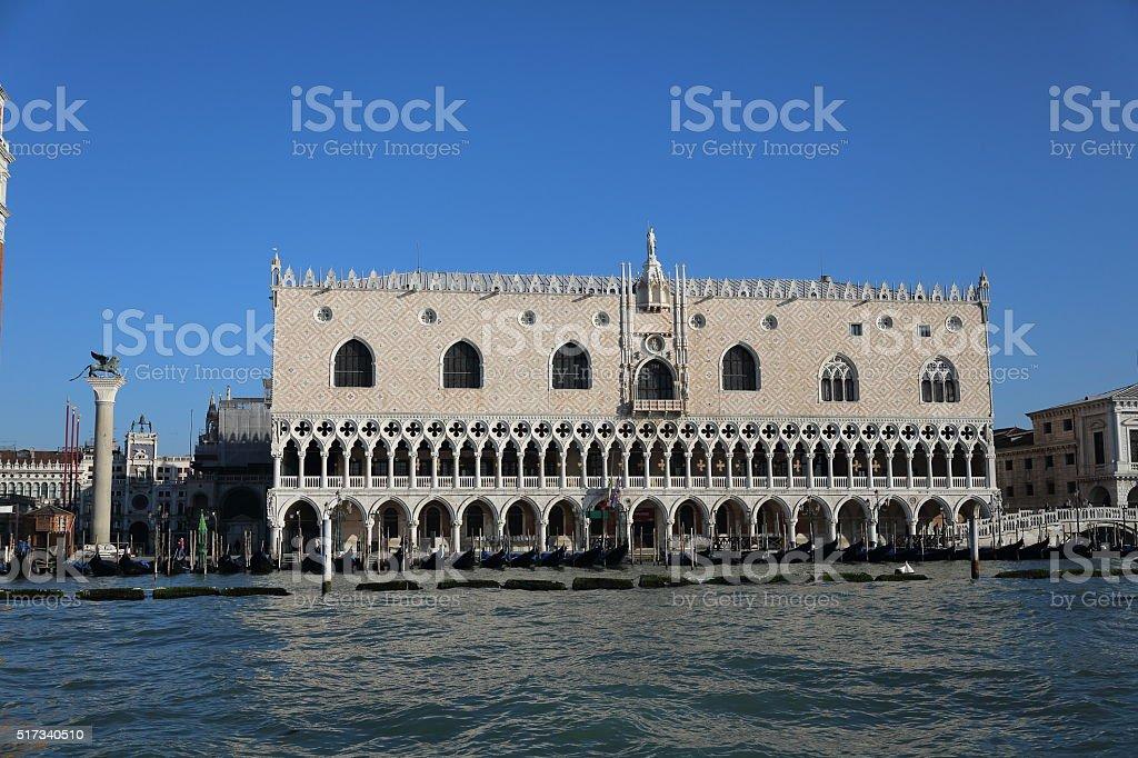 Palace of Doges, Venice Italy stock photo