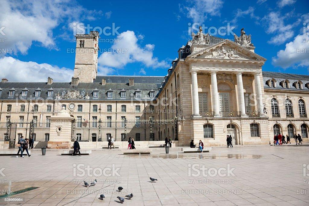 Palace of Dukes in Dijon, France stock photo
