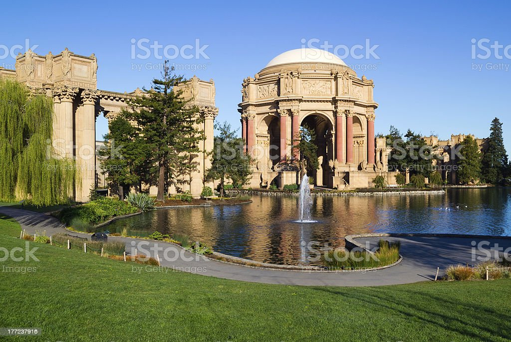 Palace of fine Arts stock photo