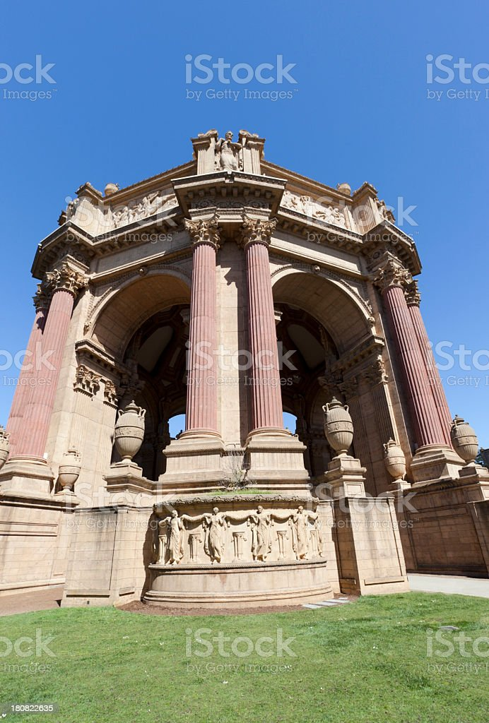 Palace of Fine Arts royalty-free stock photo