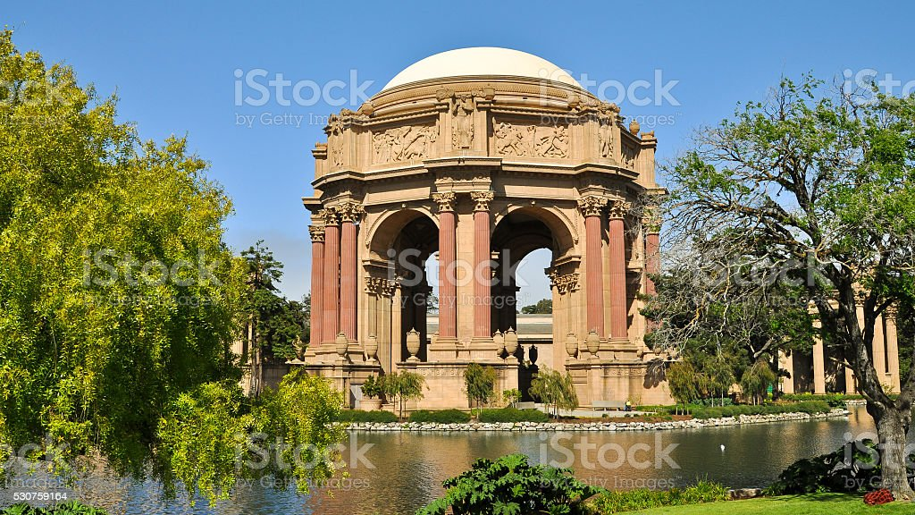 Palace of Fine Arts - San Francisco, CA stock photo
