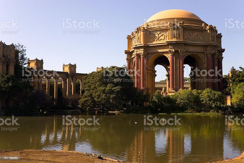 Palace of fine arts, San Francisco royalty-free stock photo