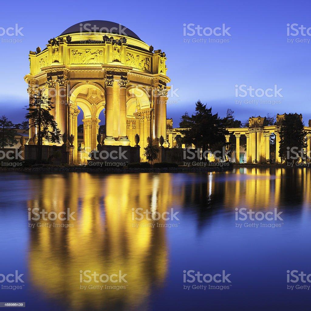 Palace of Fine Arts - San Francisco royalty-free stock photo