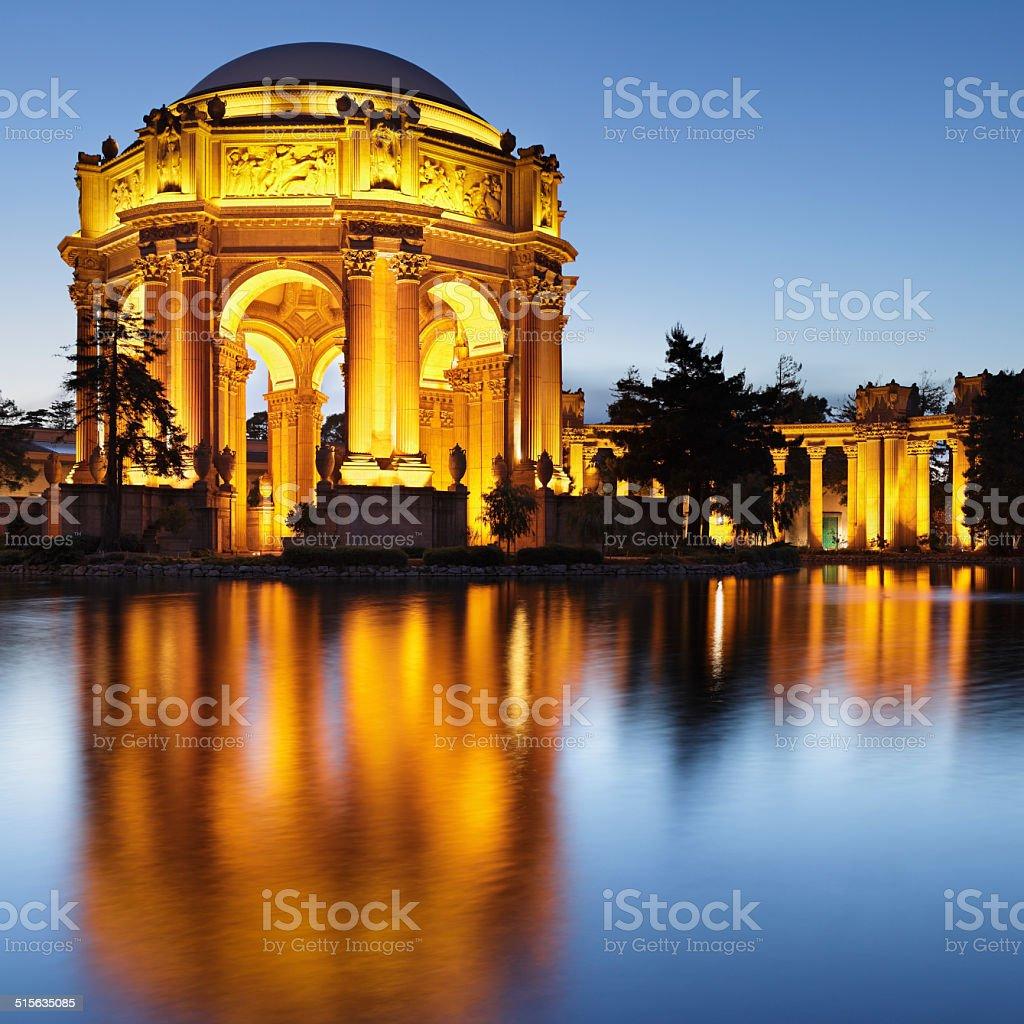 Palace of Fine Arts - San Francisco stock photo