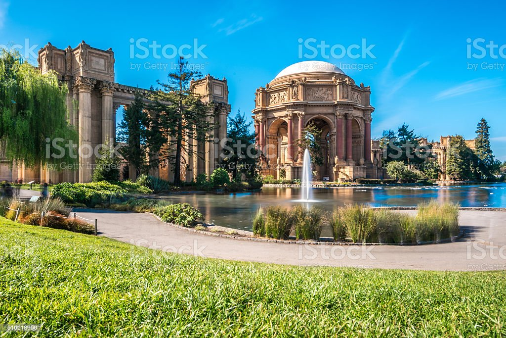 Palace of Fine Arts Theatre, San Francisco stock photo