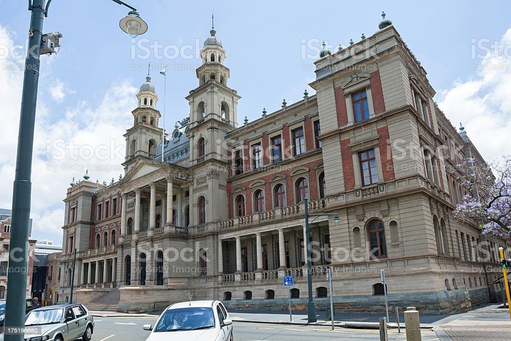 Palace of Justice in Church Square Pretoria stock photo