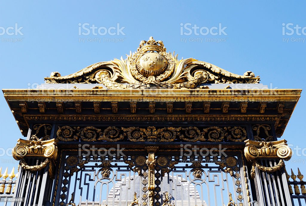 Palace of Justice in Paris stock photo