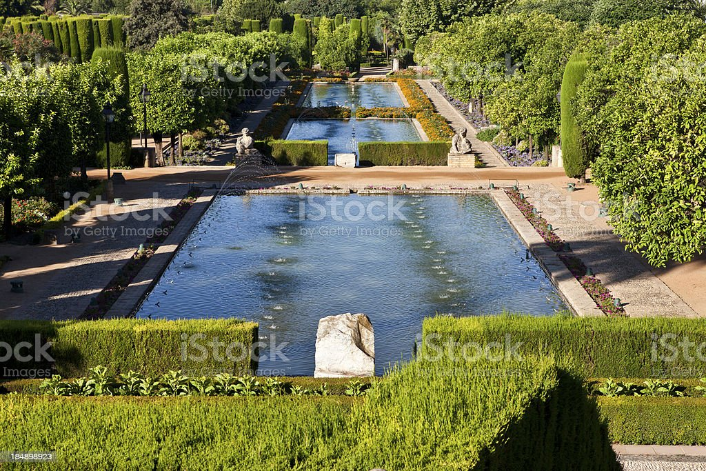 Palace of the Christian Kings - Cordoba, Spain stock photo