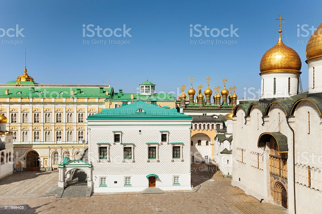 Palace of the Facets stock photo