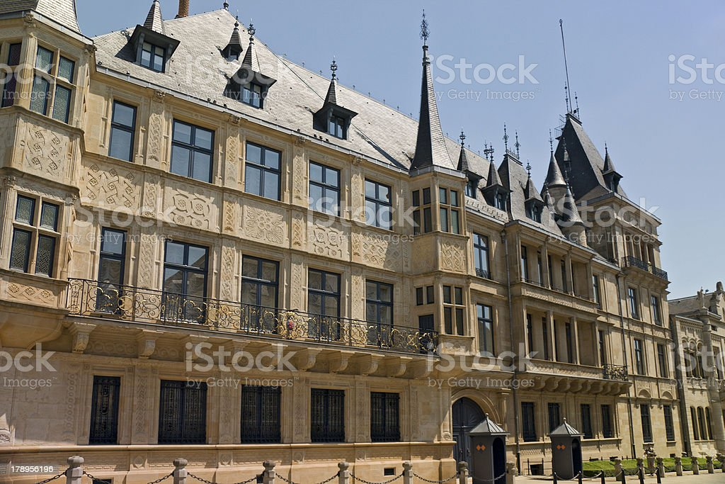 Palace of the Grand Duke (Luxembourg) stock photo