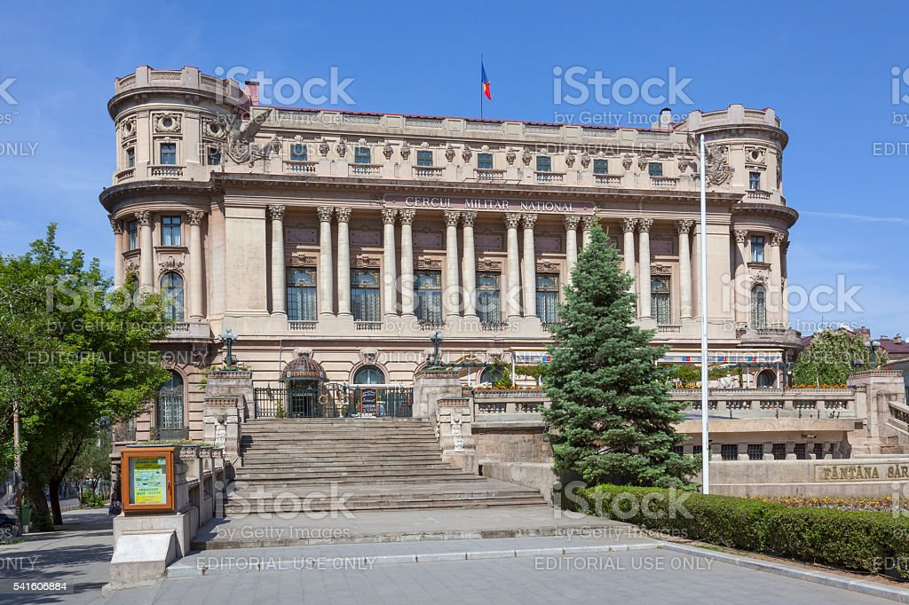 Palace of the National Military Circle stock photo