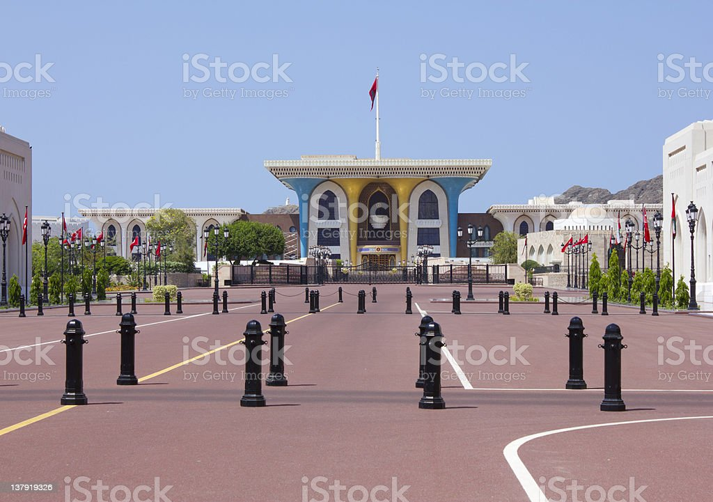 Palace of the sultan stock photo