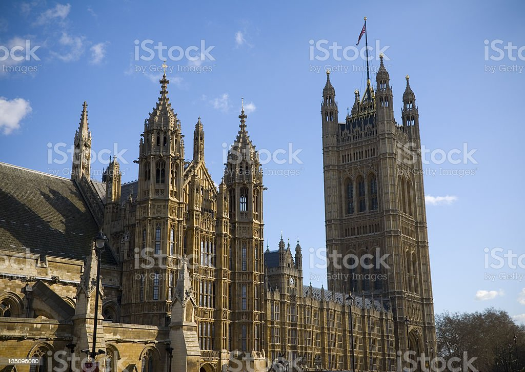 Palace of Westminster royalty-free stock photo