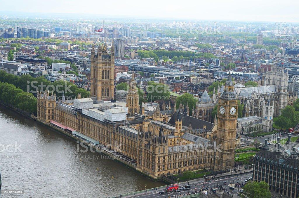 Palacio de Westminster foto de stock libre de derechos