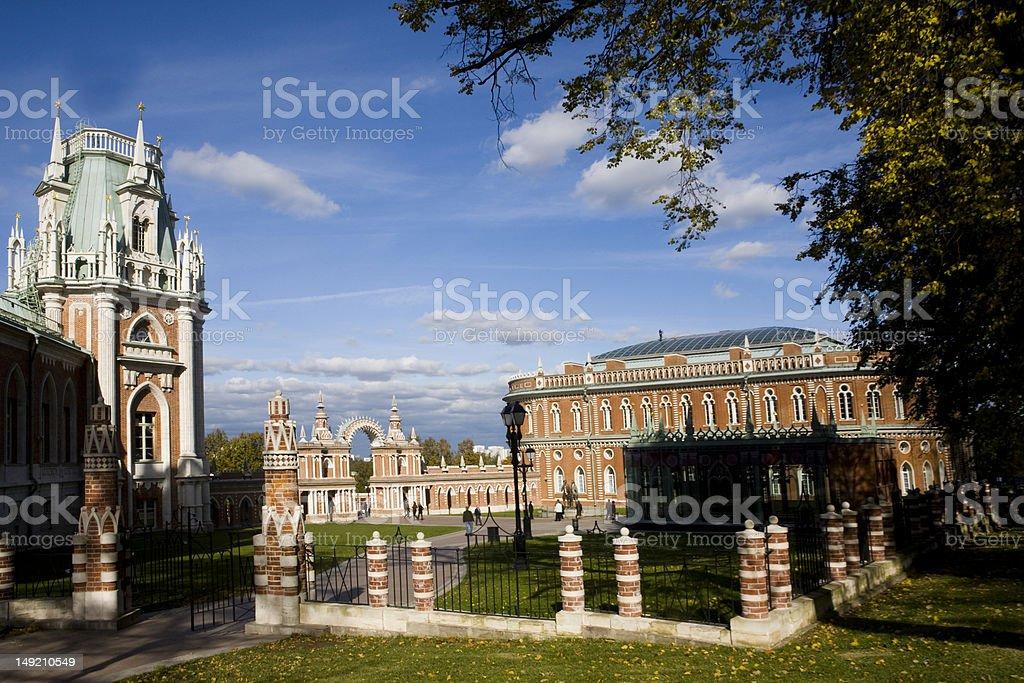 palace stock photo