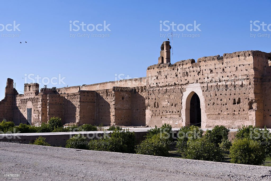 Palace royalty-free stock photo