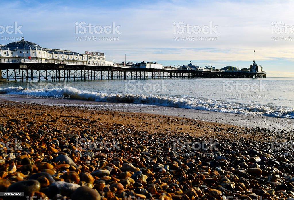 Palace Pier / Brighton Pier stock photo