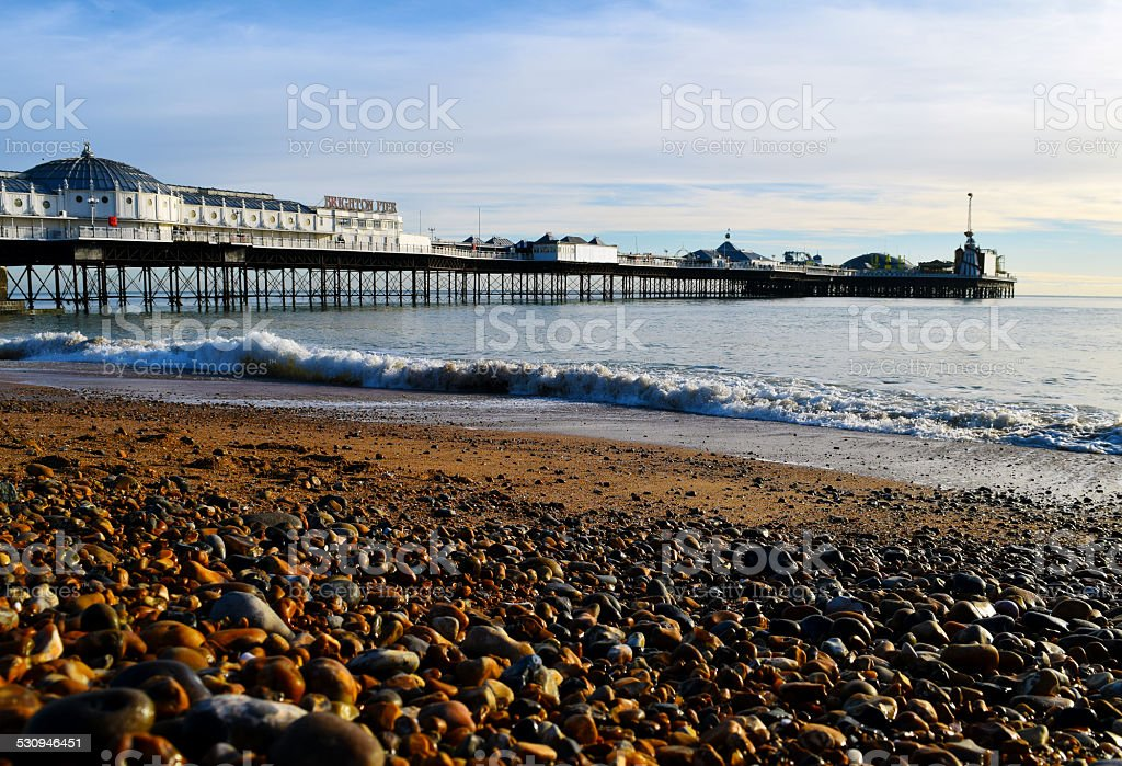 Palace Pier / Brighton Pier stock photo