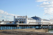 Palace Pier in Brighton, East Sussex, UK