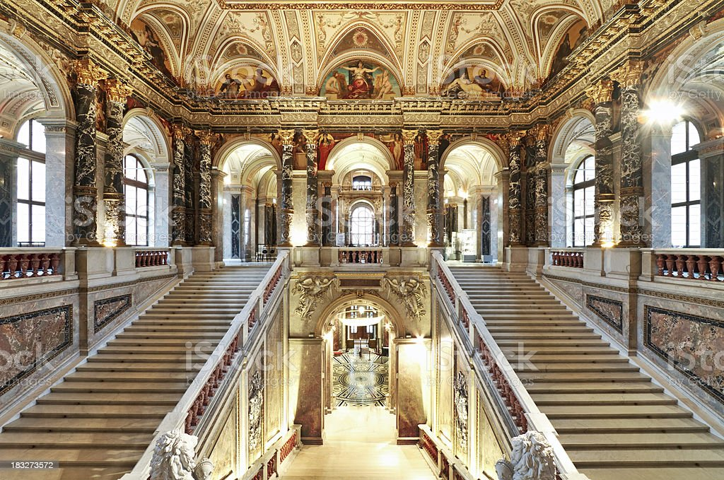 Palace staircase royalty-free stock photo