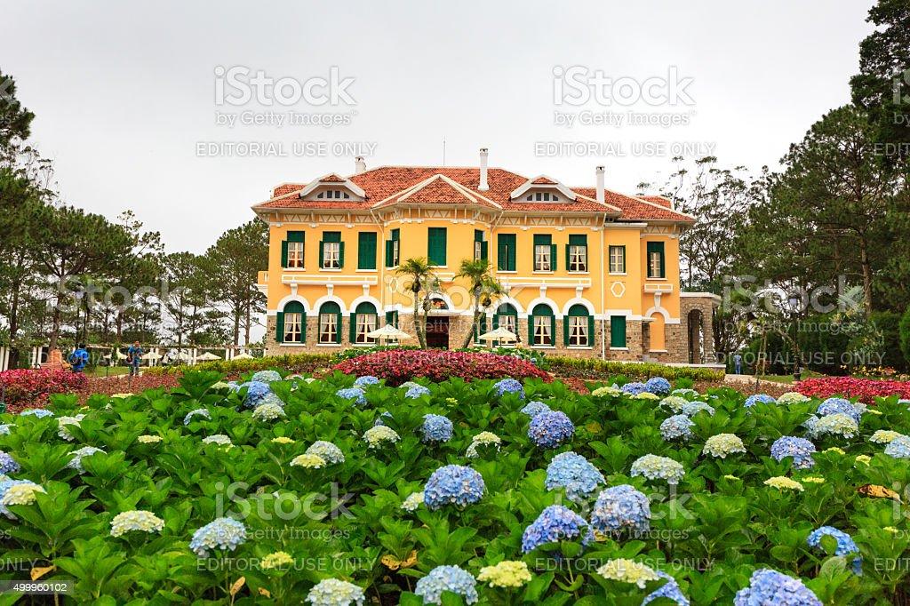 palace that King Bao Dai 1954-1963 stock photo